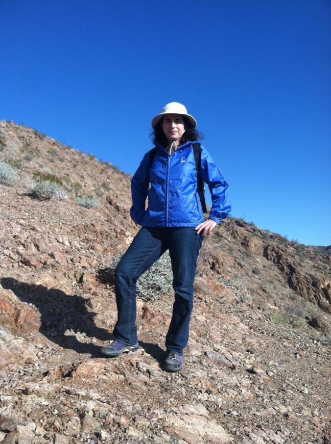 Rose Hiking at Anza-Borrego