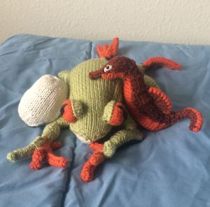 Toys I made while bumbling through a series of migraines,