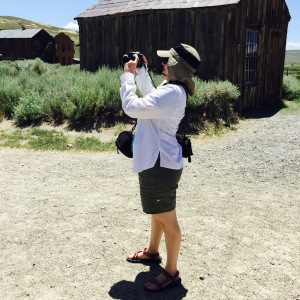 I took lots of photos, including some at Bodie, the abandoned mining town.
